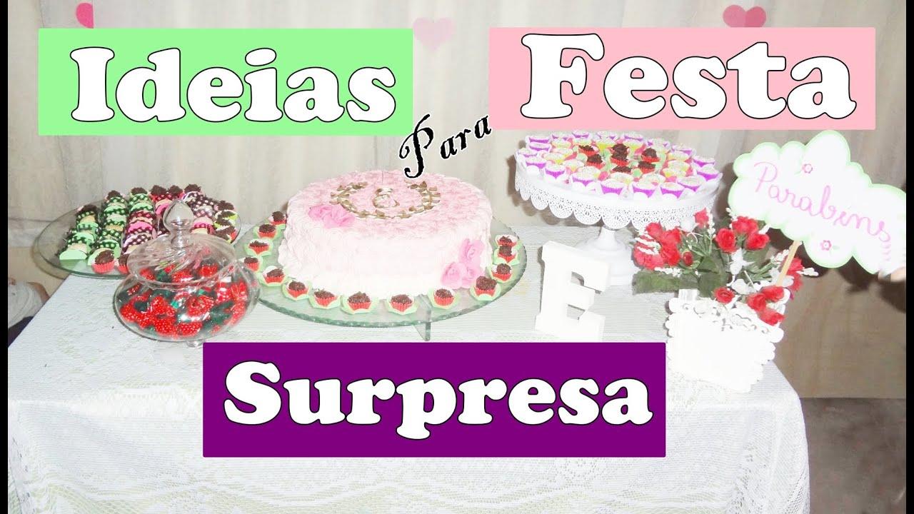 Imagens De Aniversario Para Amiga: Ideias Para Festa Surpresa