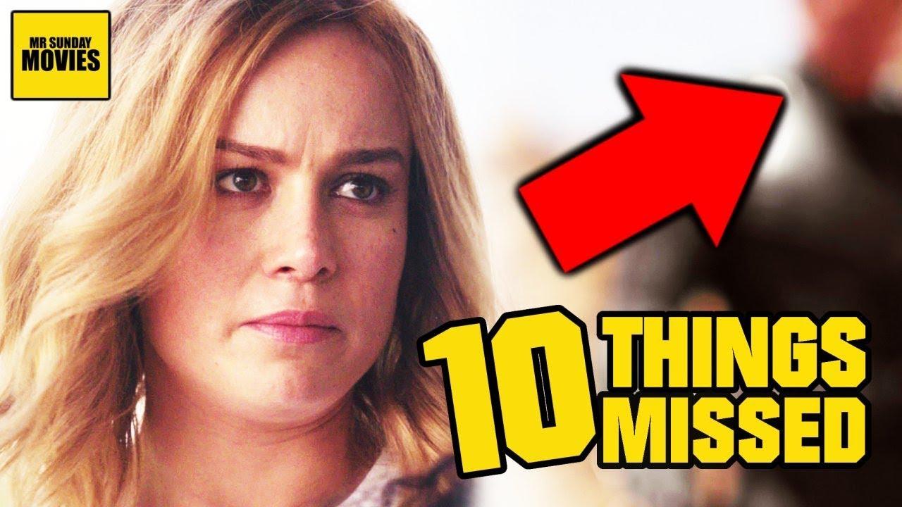 Download Captain Marvel Trailer Breakdown - Easter Eggs & Ten Things Missed