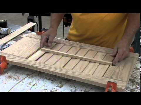 Sommerfeld's Tools for Wood - Window Shutter Set Made Easy with Marc Sommerfeld - Part 2