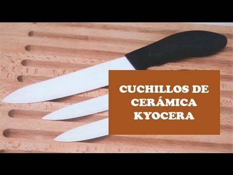 Cuchillos de cerámica Kyocera - Alta tecnología