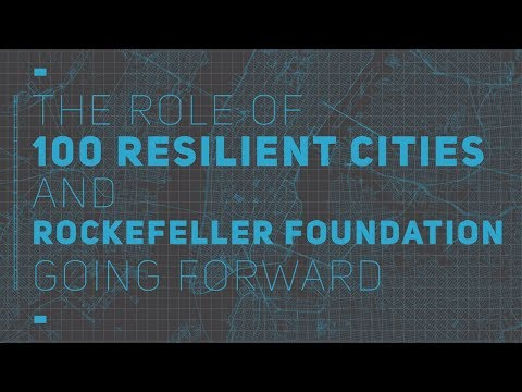 Dr. Rajiv J. Shah and Jeff Hebert: The Future of Urban Resilience