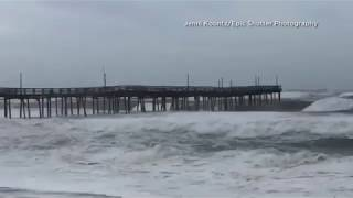 MUST SEE! Hatteras Island Flooding As Hurricane Florence Moves In