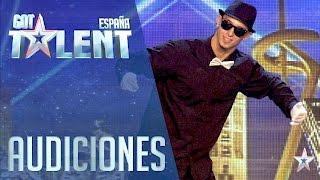 El increíble 'popping' de Ángel | Audiciones 5 | Got Talent España 2016
