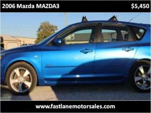 2006 Mazda MAZDA3 Used Cars Athens AL