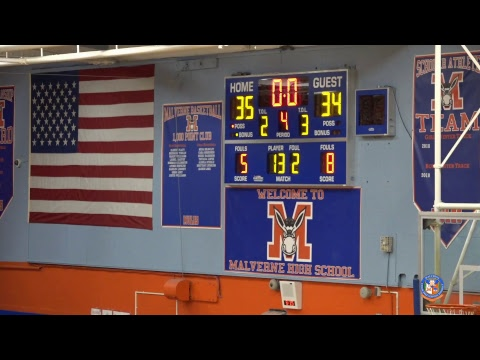 Malverne Boys Junior Varsity Basketball vs Academy Charter School - 01/02/2019