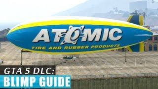 GTA 5: Blimp gameplay (live commentary) HD