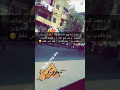 Entaonline Haifa Wehbe New series Filming Egypt هيفاء وهبي مسلسل الحرباية برنامج انت اونلاين