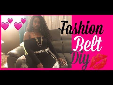 DIY fashion belt