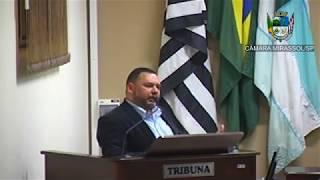 22ª Sessão Ordinária - Vereador Walmir Chaveiro