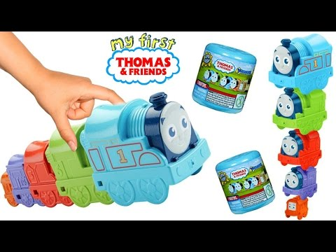 Thumbnail: Baby Learn Colors, Thomas and Friends, My First Thomas Nesting Engines, Preschool Toys, Baby Song