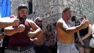 Maori Haka In Nakovana 12 07 2015