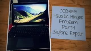 JOB#11195-HP-15-P Plastic Repair Part-1 Before the repair