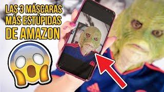 Las 3 MÁSCARAS más ESTÚPIDAS de AMAZON (ESPECIAL HALLOWEEN)