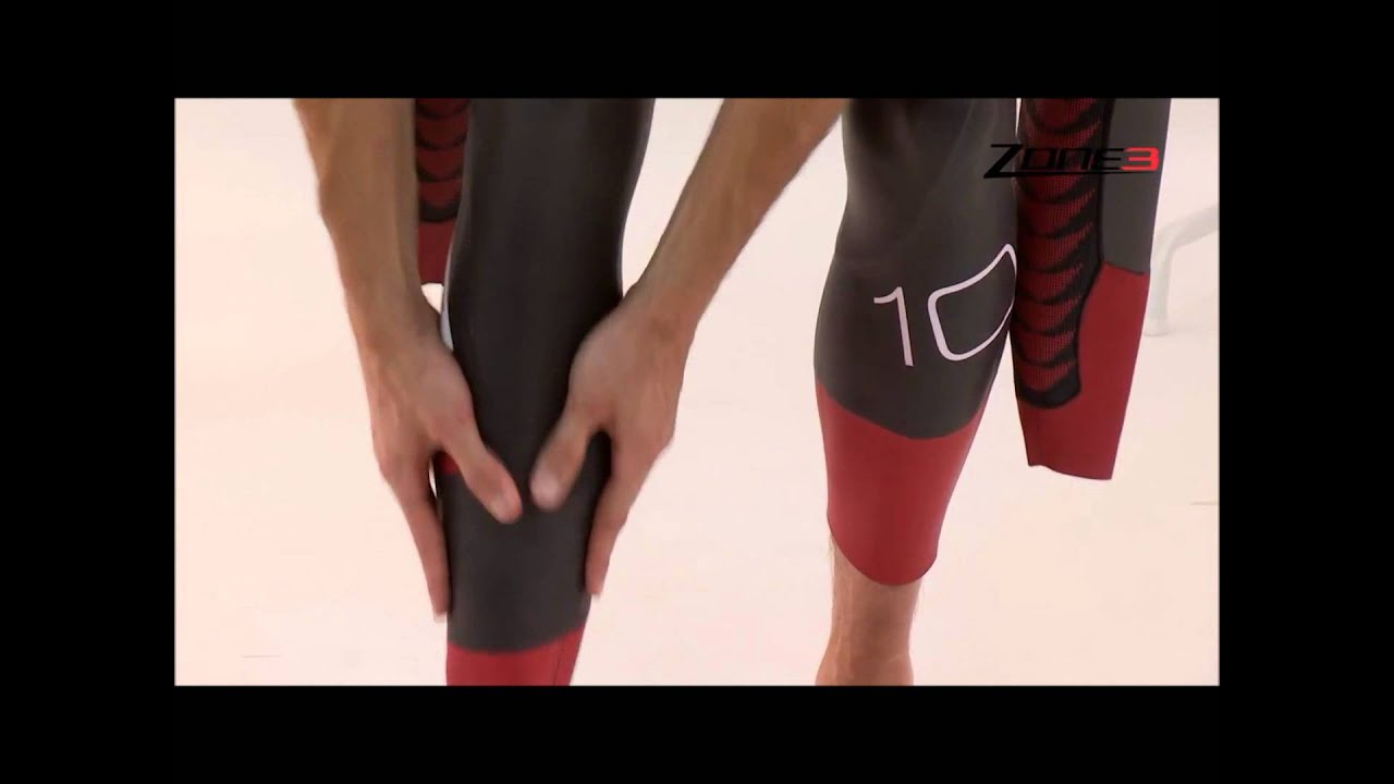 a380e6c0e15 How to put on your wetsuit presented by James Lock of Zone 3 on ProTriathlon