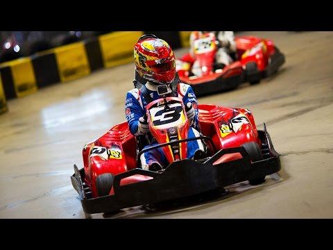 Sim Racers Vs Real Racers! Karting In Vegas - Formula E