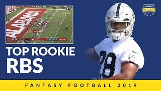 Top Rookie Runningbacks For Fantasy Football 2019