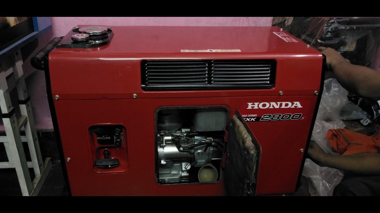 Second Hand Honda Generator Exk 2800 Price
