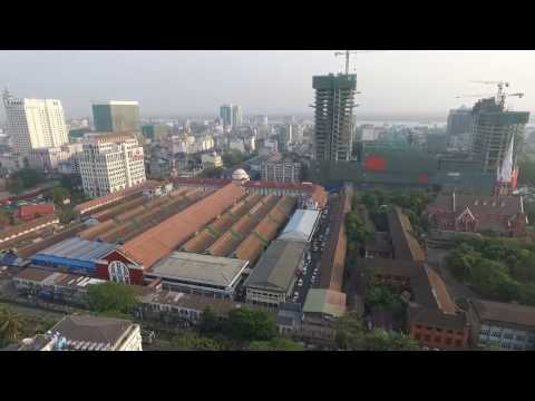 ZO THUTHANG NEWS, Yangon a inn sang pi te leh Yankin Shopping Center