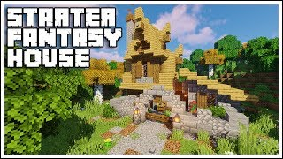 Minecraft 1 14 Starter Fantasy House YouTube