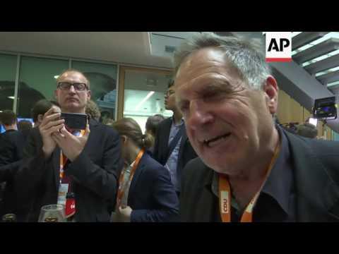 Merkel's CDU party wins vote in German state