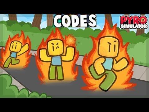roblox pyro simulator codes