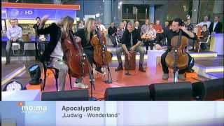 APOCALYPTICA - FLIGHT OF THE VALKYRIES AND LUDWIG WONDERLAND ACOUSTIC  HD 2013 nov29 PROSHOT
