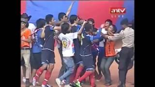 Free Kick Esteban Awali Pesta Sempurna Arema Indonesia