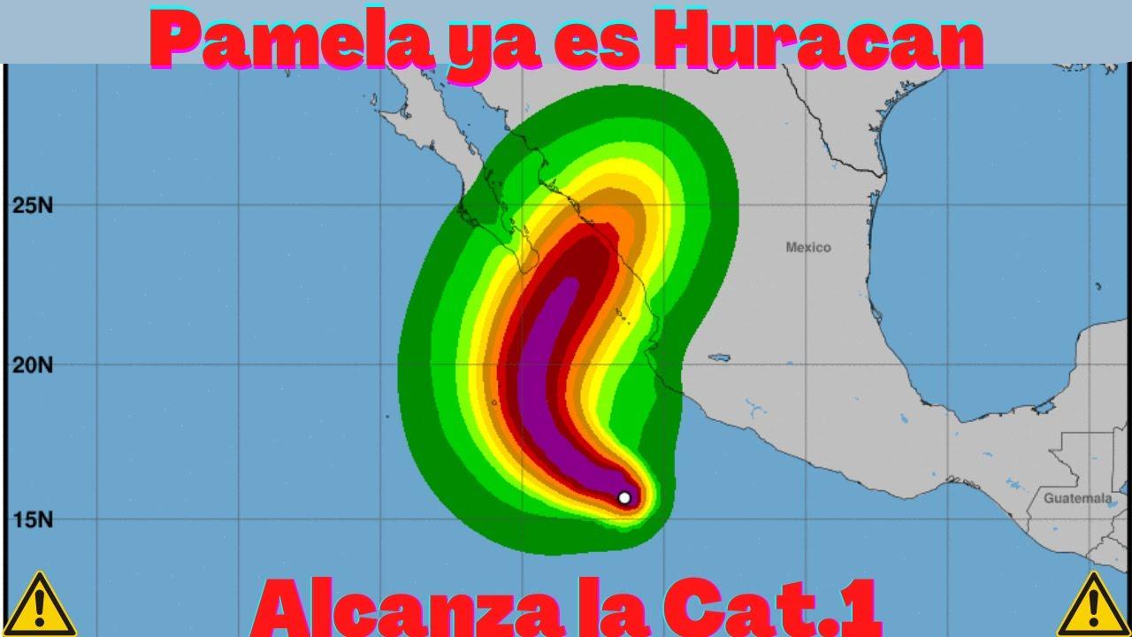 Tropical Storm Pamela, forecast to become Category 3 hurricane ...
