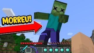 Minecraft Impossível #11: EU FINALMENTE CONSEGUI DERROTAR ESSE GIGANTE!!!