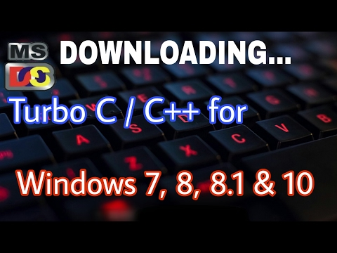 Turbo C/C++ For Windows 10/8/8.1/7/XP | How To Install Turbo C/C++ | In Hindi | Programming​ Guru
