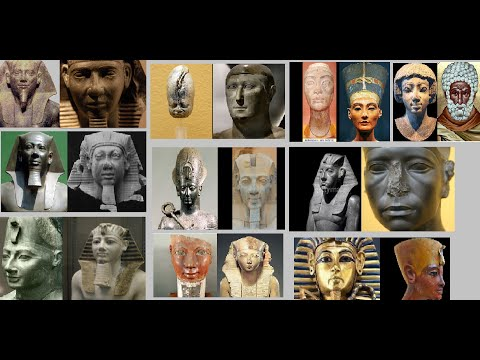 The Two Faces of ancient Egypt