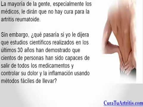 La Artritis Reumatoide Tiene Cura - YouTube