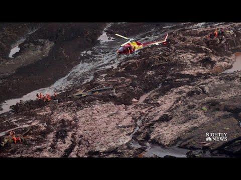 Hundreds Missing After Brazil Dam Break, Burying Region In Mud | NBC Nightly News Mp3