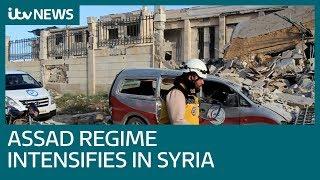 Assad regime intensifies assault on last Syrian rebel enclave …