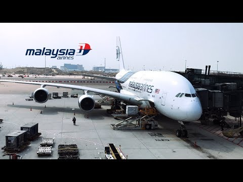 Malaysia Airlines Airbus A380 flight from Hongkong to Kuala Lumpur | MH73 | First Class Cabin Tour