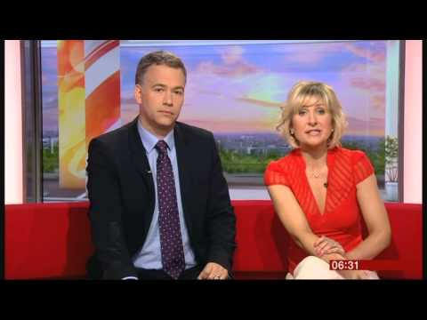 SIAN LLOYD:-: BBC Breakfast - 06 May 2013 - Protein from Bugs