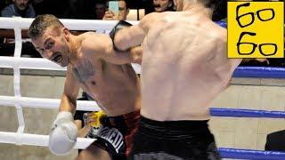 Владимир Карпела подрался по K-1, а Катя — по боксу! Кто взял пояс? Репортаж с турнира Bike Fight