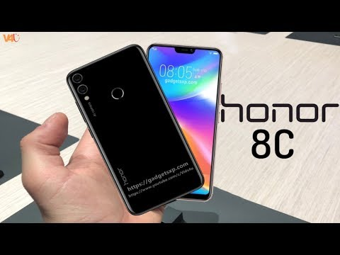 Honor 8C Release Date, Official Look, Price, Specifications, Camera, Features, First Look, Trailer