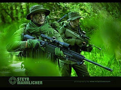 Снайперская винтовка Steyr Mannlicher SSG 69 P II  и тактический чехол