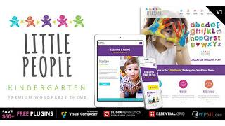 Little People | Kindergarten WordPress Theme for PreScool and infants, nurseries and play school |