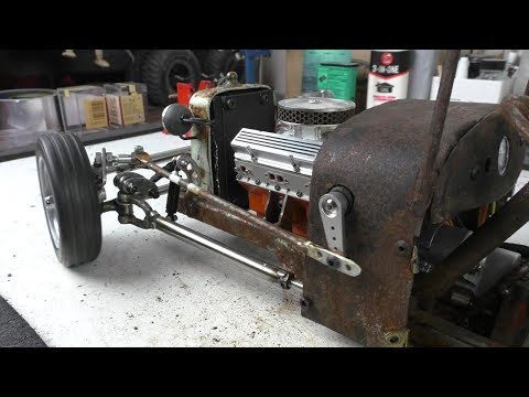 Rust Never Sleeps (part 43) RC Rat Rod charity auction build for Cancer Society NZ.