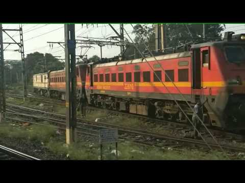 Pune junction fastest locomotives and 16339 nagercoil express
