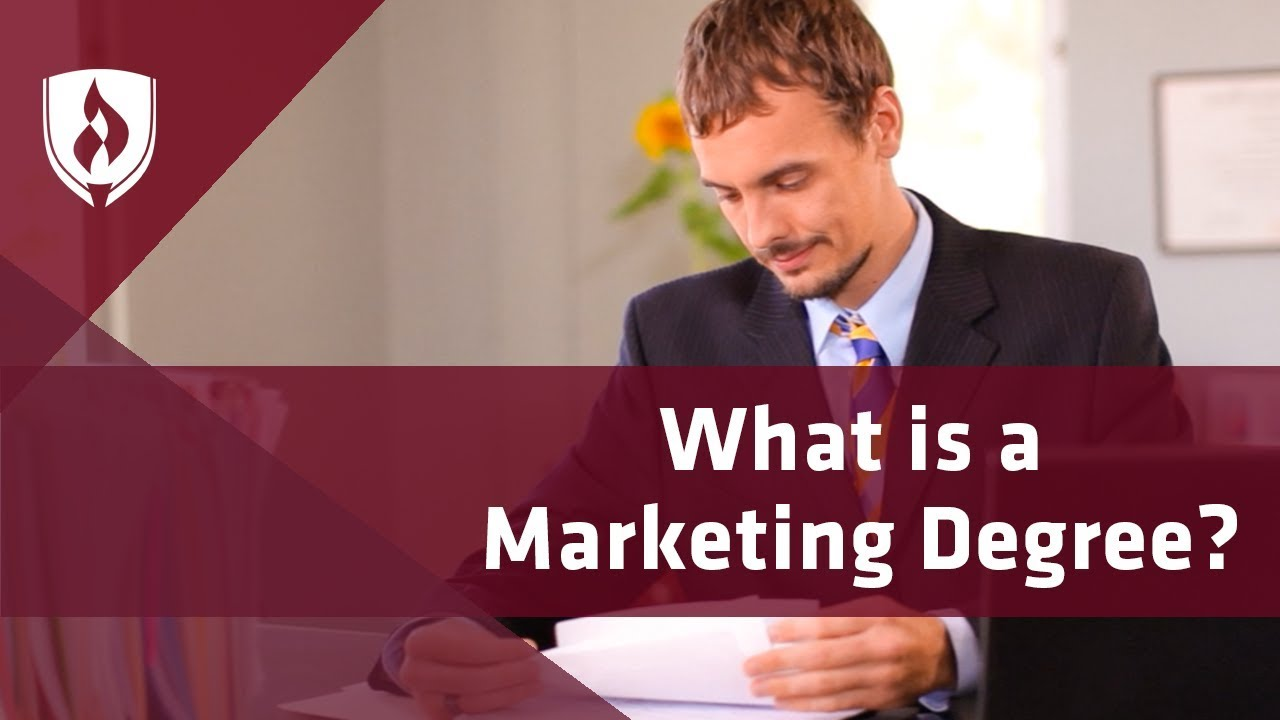 what degree do you need for marketing manager