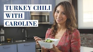 Turkey Chili with Dark Chocolate and Black Beans with Caroline Artiss I My Family Recipe