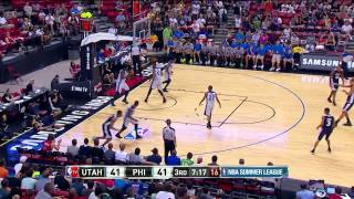 Summer League: Utah Jazz vs Philadelphia 76ers