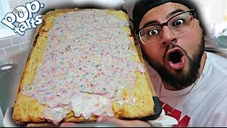 DIY GIANT POP TART!!