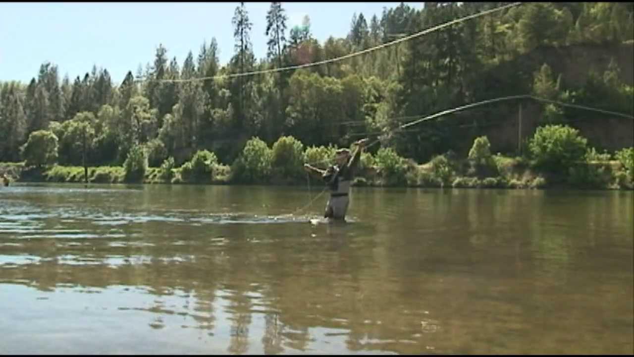 Fly fishing rogue river youtube for Rogue river oregon fishing