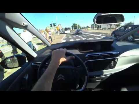 Citroen C4 Picasso   POV Test Drive - YouTube