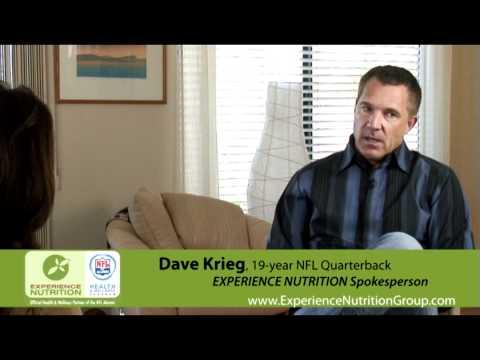 NFL Veteran Quarterback, Dave Krieg, EXPERIENCE NUTRITION Spokesperson