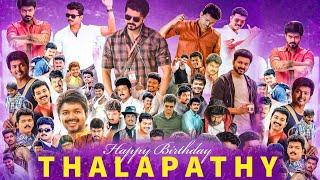 Thalapathy Vijay Birthday Special Video | Mash up Promo WhatsApp Status